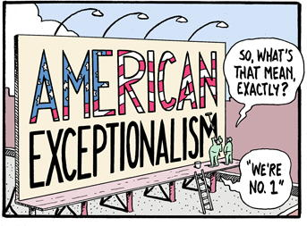 american exceptionalism essays Free essays perception of american exceptionalism essay example perception of american exceptionalism essay example 1501 words 7 pages.